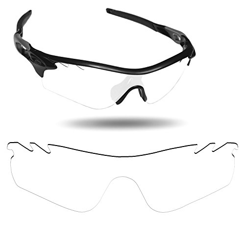 Fiskr Anti-Saltwater Replacement Lenses for Oakley RadarLock Path Vented Sunglasses - Various - Radarlock Replacement Oakley Path Lenses