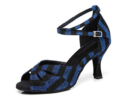 de Bleu 36 Minitoo MinitooUK Danse L294 EU 5 Bleu Salon Femme qwBqtf0OZr