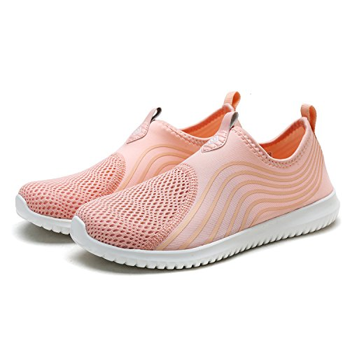 Sneakers PAIRS Quick Pink Water Casual Sports DREAM Walking Women's Shoes Shell Dry ZqBESzwd