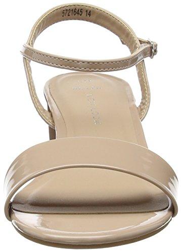 Femme Escarpins Foot Wide Zee Ouvert Beige Bout Oatmeal Look 14 New I0q75
