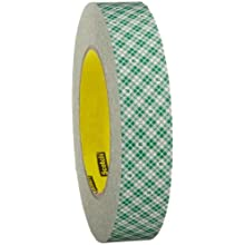 3M Double Coated Paper Tape 410M, 1 in x 36 yd 5.0 mil (Pack of 1)