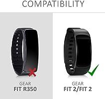 kwmobile Correa de Reloj para Samsung Gear Fit2 / Gear Fit 2 Pro ...