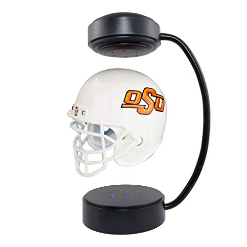 Oklahoma State Cowboys NCAA Hover Helmet - Collectible Levitating Football Helmet with Electromagnetic Stand