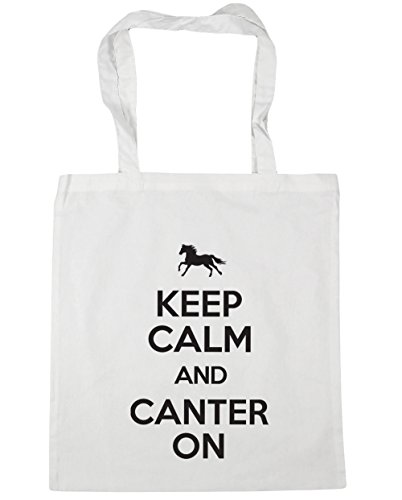 Shopping On Bag Riding 10 and Canter White Beach Keep 42cm Tote Horse litres HippoWarehouse Gym Calm x38cm x8w1qxC