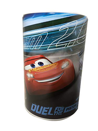 Kids Coin (Money) Bank - Disney Cars - Lightning McQueen - Storm 2.0 - Duel for The Piston Cup ()