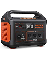Jackery Solar Generator 1000, 1002Wh Portable Power Station Explorer 1000 and SolarSaga 100W with 3x110V/1000W AC Outlets, Solar Mobile Lithium Battery Pack for Outdoor RV/Van Camping, Emergency