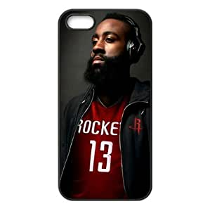 Houston Rockets James Harden Image Theme Back TPU Case for iPhone 5/5s-by Allthingsbasketball