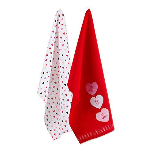 DII CAMZ11121 Oversized Decorative Dish Towel Perfect for Valentine's, Mother's Day, Baby Shower, Wedding and Everyday Use, Dishtowels Sweet Talk
