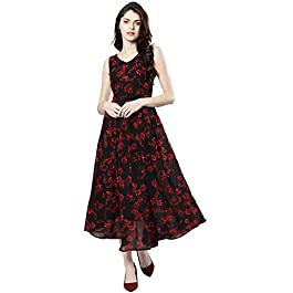 Buy Harpa Synthetic a-line Dress India 2021