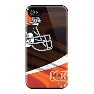 DrS1728jtSm Snap On Case Cover Skin For Iphone 4/4s(cleveland Browns)