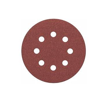 Brown Bosch 2608605641 Wood Velcro 8 hole125x8 G60