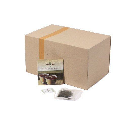 Mighty Leaf Organic Spring Jasmine - (100 Foil Wrapped Tea Pouches) by Mighty Leaf