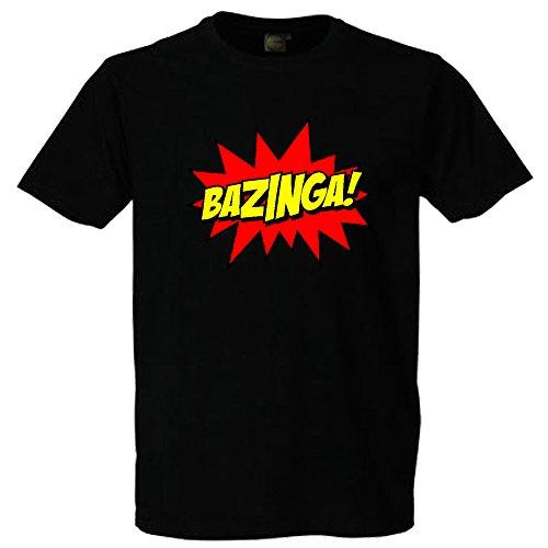 Bazinga T-Shirt Schwarz