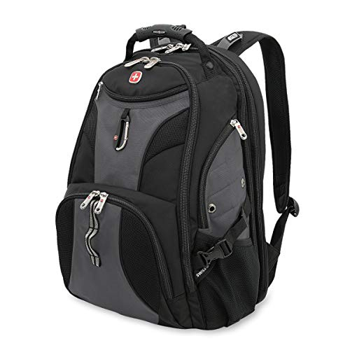 SwissGear Travel Gear 1900 Scansmart TSA Laptop Backpack - Gray ()