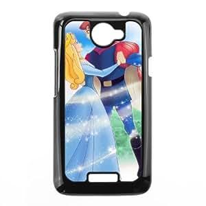 HTC One X Black phone case Disney Cartoon Comic Series Sleeping Beauty QBC3085247