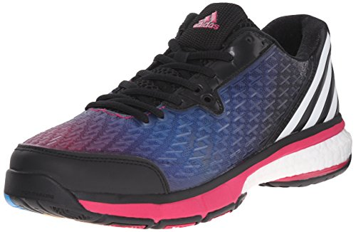 Adidas Performance Womens Energy Volley Boost 2.0 W Scarpa Nero / Bianco / Grassetto Rosa