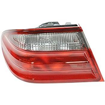 Chrome Bulbs For 2003-06 Mercedes W211 E Class Clear Bumper Side Marker Light