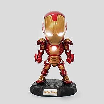 Marvel Toys - Avengers Q Versión de The Iron Man con figura ...