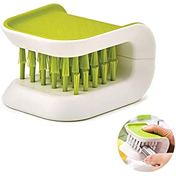 Sink Edge Blade Brush And Cutlery Cleaning Brush Green Safety Cleaner