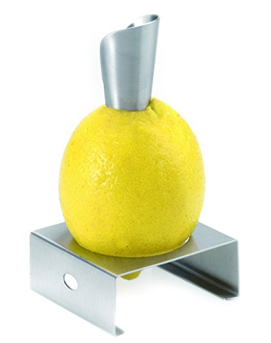 Westmark Juice Lemon Squeezer And Pourer - Stainless Steel Tray Hand Held Citrus Juicer