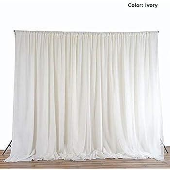 Amazon Com Rantepao Ceiling Draping Sheer Chiffon Voile