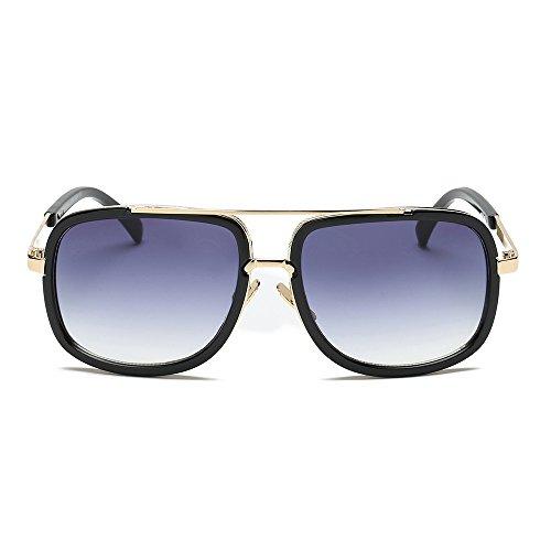 AMOFINY Fashion Glasses Women Men Fashion Quadrate Metal Frame Brand Classic Sunglasses