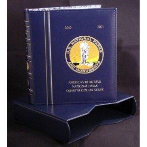 Lighthouse Coin Album PRESSO for National Park Quarters -