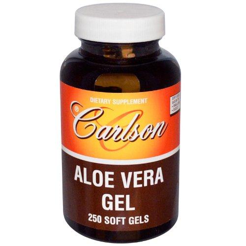Carlson Labs Aloe Vera Gel, 25mg, 250 Softgels