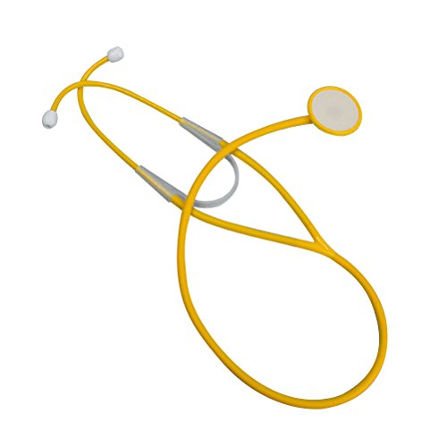Amosfun Children Toy Doctor Costume Nurse Plastic Stethoscope Stage Performance Party Props Echometer Doctor Medical Kit Halloween Costumes (Random color) -