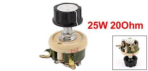 eDealMax Hilo bobinado de cerámica Potenciómetro reostatos Resistor ...