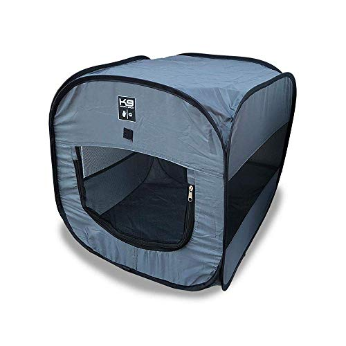 K9 Sport Sack | Indoor & Outdoor Pop-up Travel Dog Tent | Portable Dog House for Camping & Hiking with Carry Bag (30