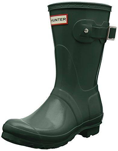 Hunter Low Wellington Boots, Stivali di Gomma Donna Verde (Green Hgr)