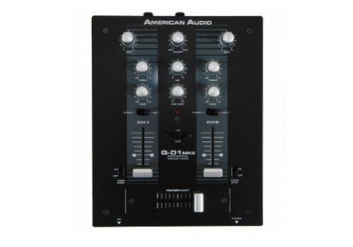 American Audio QD-1 MK II Professional preamp mixer (American Audio Amps)