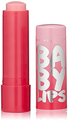 Maybelline Baby Lips Glow Lip Balm, My Pink, 0.13 oz.