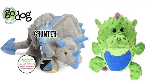 Quaker GoDog Chew Guard Technology Dog Toy LARGE Set of 2!