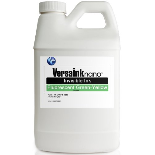 VersaInk Invisible Green-Yellow Fluorescent Ink 1L