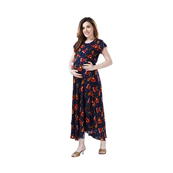 Best Soft AV2 Viscose Anarkali Maternity Kurti Online India