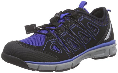 Superfit LUMIS 500413, Jungen Sneakers, Blau (CYAN KOMBI 85),  35 EU