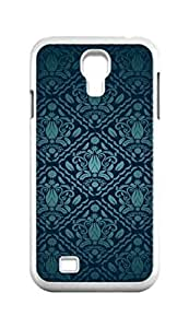 Cool Painting filigree pattern Snap-on Hard Back Case Cover Shell for Samsung GALAXY S4 I9500 I9502 I9508 I959 -1403