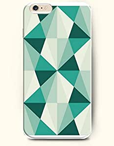 Blue And Beige Triangle Pyramid - Geometric Pattern - Phone Cover for Apple iPhone 6 ( 4.7 inches) - OOFIT Authentic iPhone Case