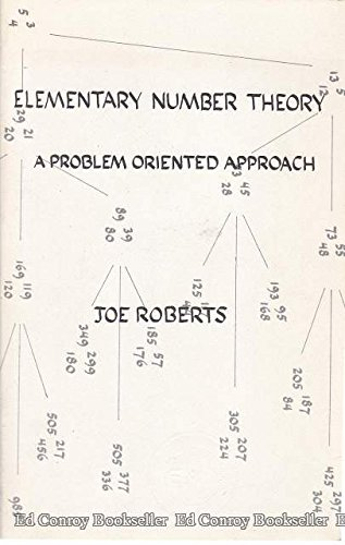 Elementary Number Theory: A Problem Oriented Approach