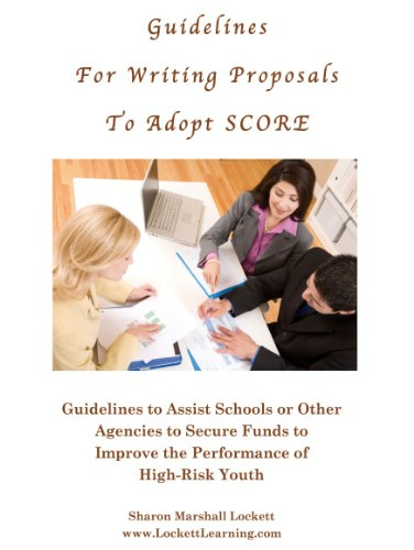 Guidelines for Writing Proposals to Adopt SCORE