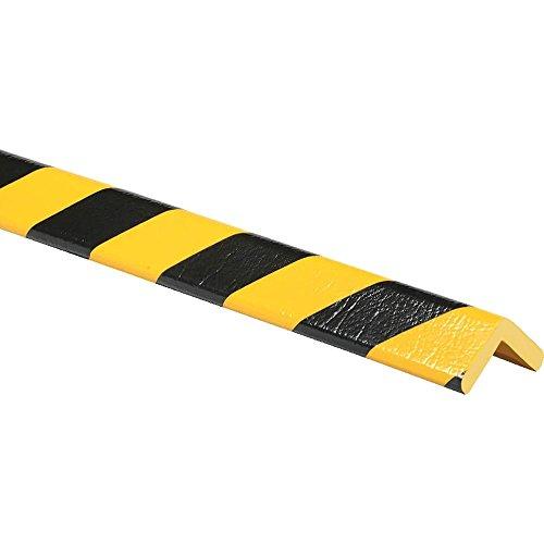 knuffi tipo H Amarillo/Negro 5 m Protector de esquina (Perfil tipo H, autoadhesivo, Amarillo/Negro, 5 m de plástico: Amazon.es: Industria, ...
