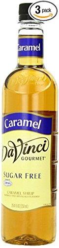 DaVinci Gourmet Sugar Free Syrup, Caramel, PXfTGQ 12 Pack (25.4 Ounce) by DaVCrci