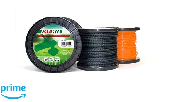 KURIL 78147 Cable Nylon Trenzado, Negro, 3, 30mmX806m ...