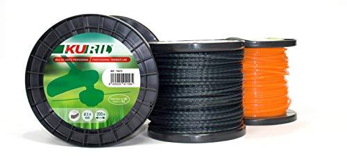 KURIL 78154 Cable Nylon, Granate, 2, 7mmX249m: Amazon.es: Jardín