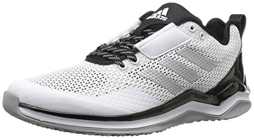 adidas Performance Men's Speed Trainer 3.0, White/Metallic Silver/Black, (12.5 M US)