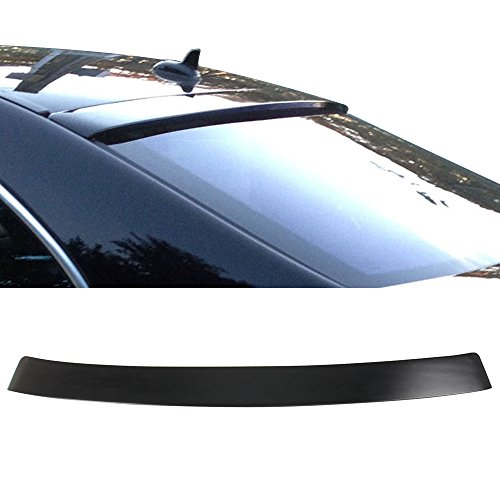 Roof Spoiler Fits 2007-2013 Mercedes Benz W221 S-Class | ABS Wing - Other Color Available Rear Trunk Tail Spoiler Wing by IKON MOTORSPORTS | 2008 2009 2010 2011 (W221 Roof)