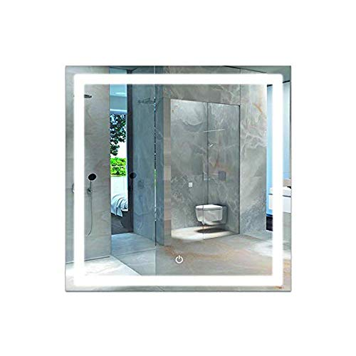 LEDMyplace LED Bathroom Lighted Mirror 36x36 Inch, Square Lighted Vanity Mirror Includes -