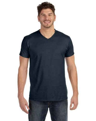 Hanes Men's 6-Pack V-Neck T-Shirt - 3 Vintage Gold / 3 Vintage Black - - Hanes Stores